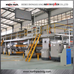 Five Layer Corrugated Paper Production Line
