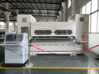 Corrugated Paperboard Thin Blade Slitting and Creasing Machine For Carton Box