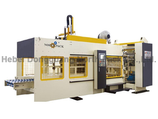 NPS1224 Online Printing Slotting Die-cutting Machine with Gluing Bundling Machine/Case Maker
