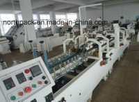 Automatic Corrugated Pre-fold and Crash Lock Bottom Folder Gluer Machine