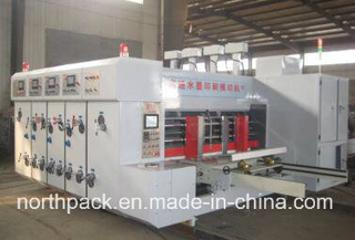 Leadedge feeding automatic flexo printing slotting die-cutting machine
