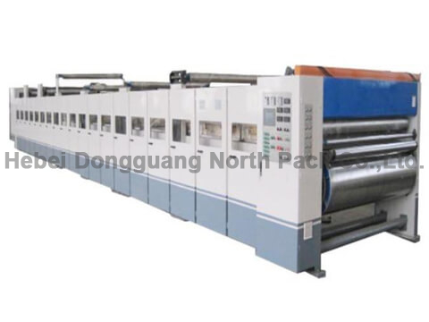 SM Corrugated Cardboard Double Facer Machine