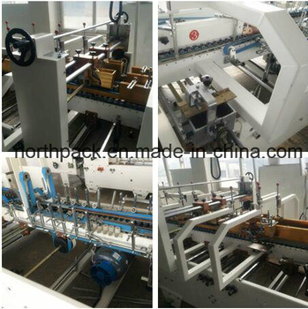 AGD Automatic prefolding bottom lock folder gluer machine
