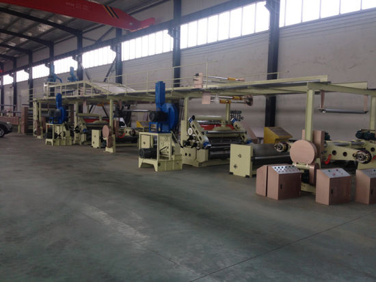 Three Layer Corrugated Cardboard Production Line