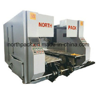 GSZX Online bottom folding high speed gluing machine with automatic flexo printing die-cutting machine and auto bundling machine
