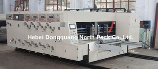 GSYKM Automatic Four Color Printing Slotting And Die cutting Machine